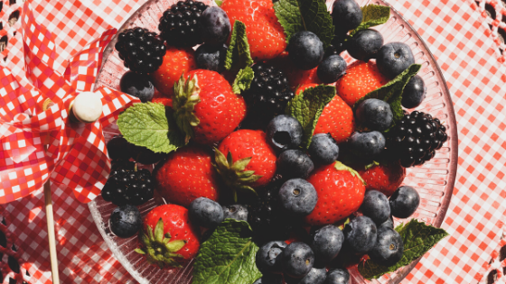 berries fruits anti-inflammatory